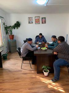 Совещание с имамами мечетей